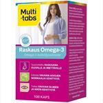 Multi-tabs Raskaus Omega-3, 100 таблеток Для беременных и кормящих женщин