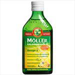Möller рыбий жир с фруктовым вкусом, 250 ml