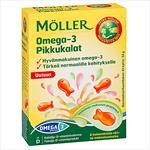 MÖLLER OMEGA-3 PIKKUKALAT 6X45